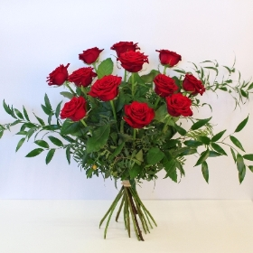 Luxury Red  Rose Hand tied