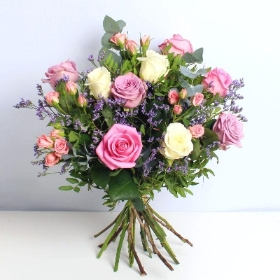 Mixed Rose Handtied