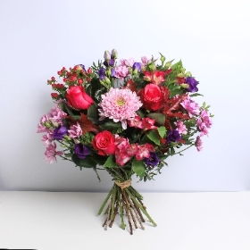 Autumn Berry Hand tied