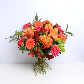 Orange Splendour  Hand tied