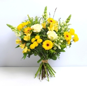 Lemon Sizzle Hand tied