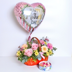 Mothers Day Basket Gift Set
